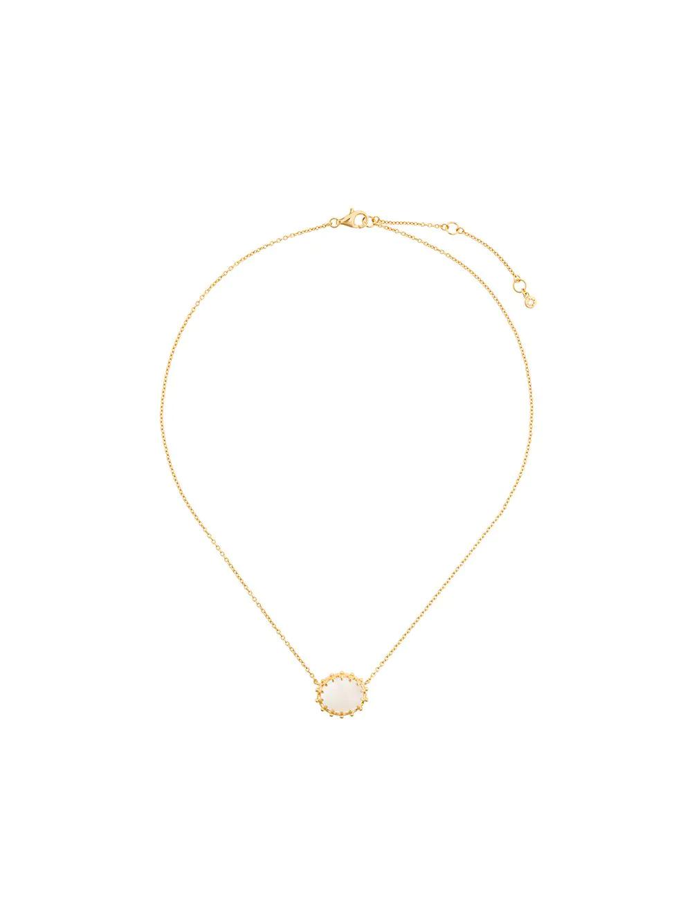 Astley Clarke | Astley Clarke колье цветочного дизайна с перламутром | Clouty