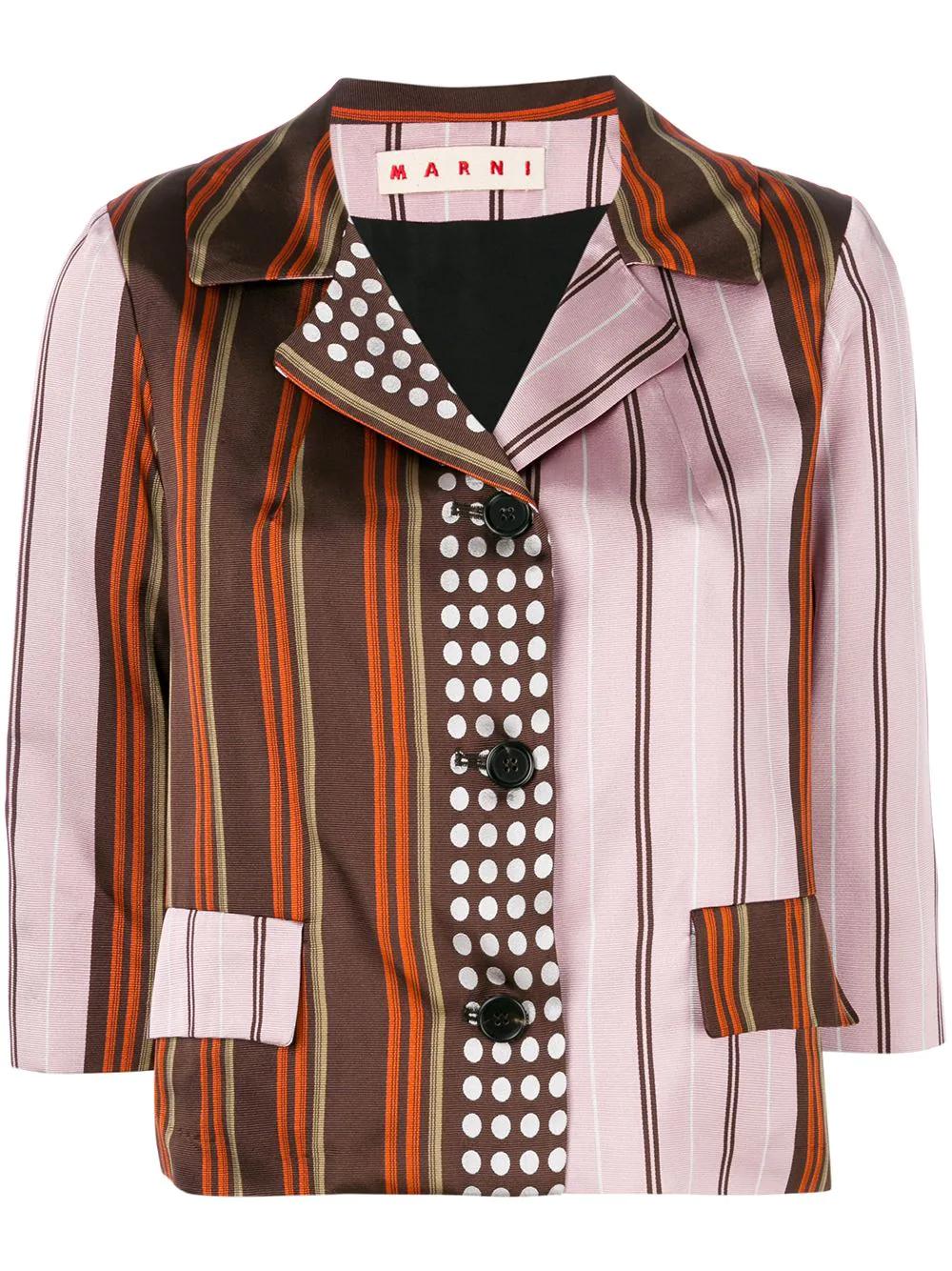 Marni | пиджак в контрастную полоску | Clouty