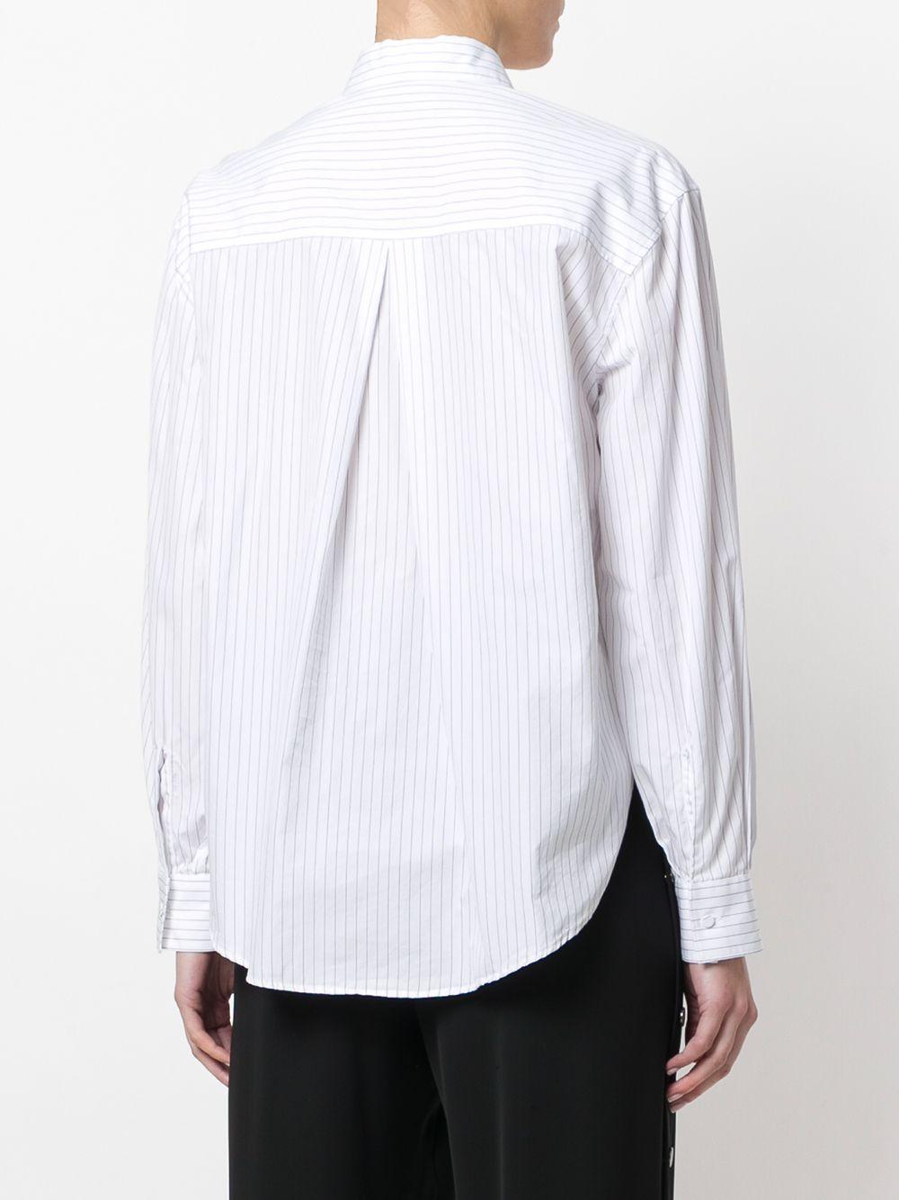 Cédric Charlier   рубашка в полоску   Clouty
