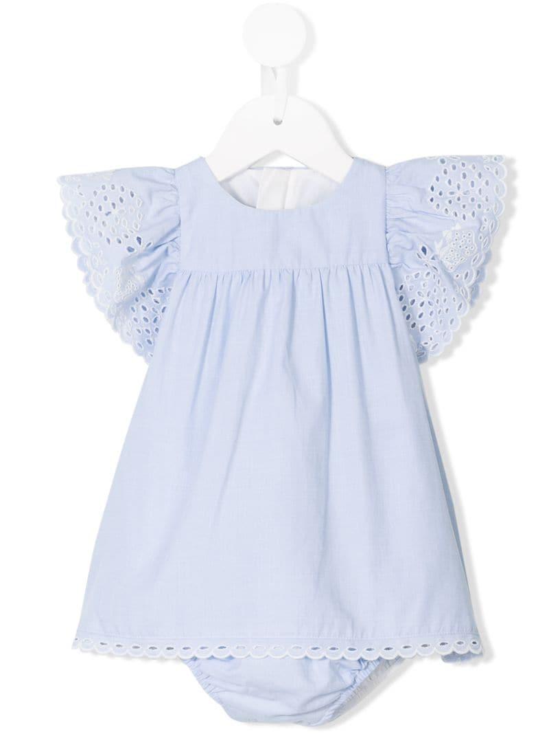 Chloé Kids | платье с оборками | Clouty