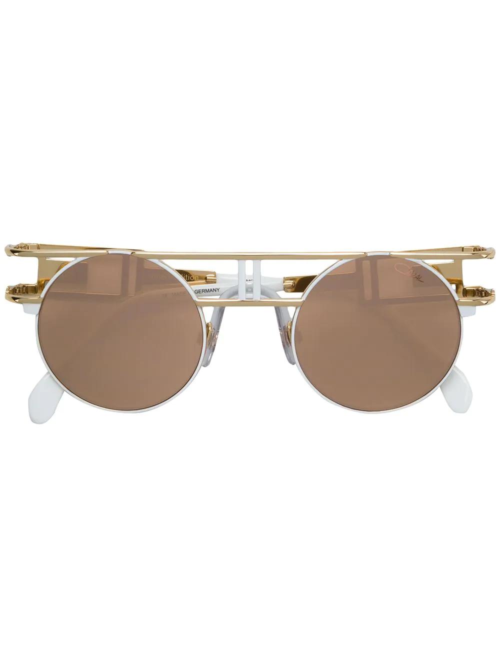 Cazal | солнцезащитные очки в круглой оправе | Clouty