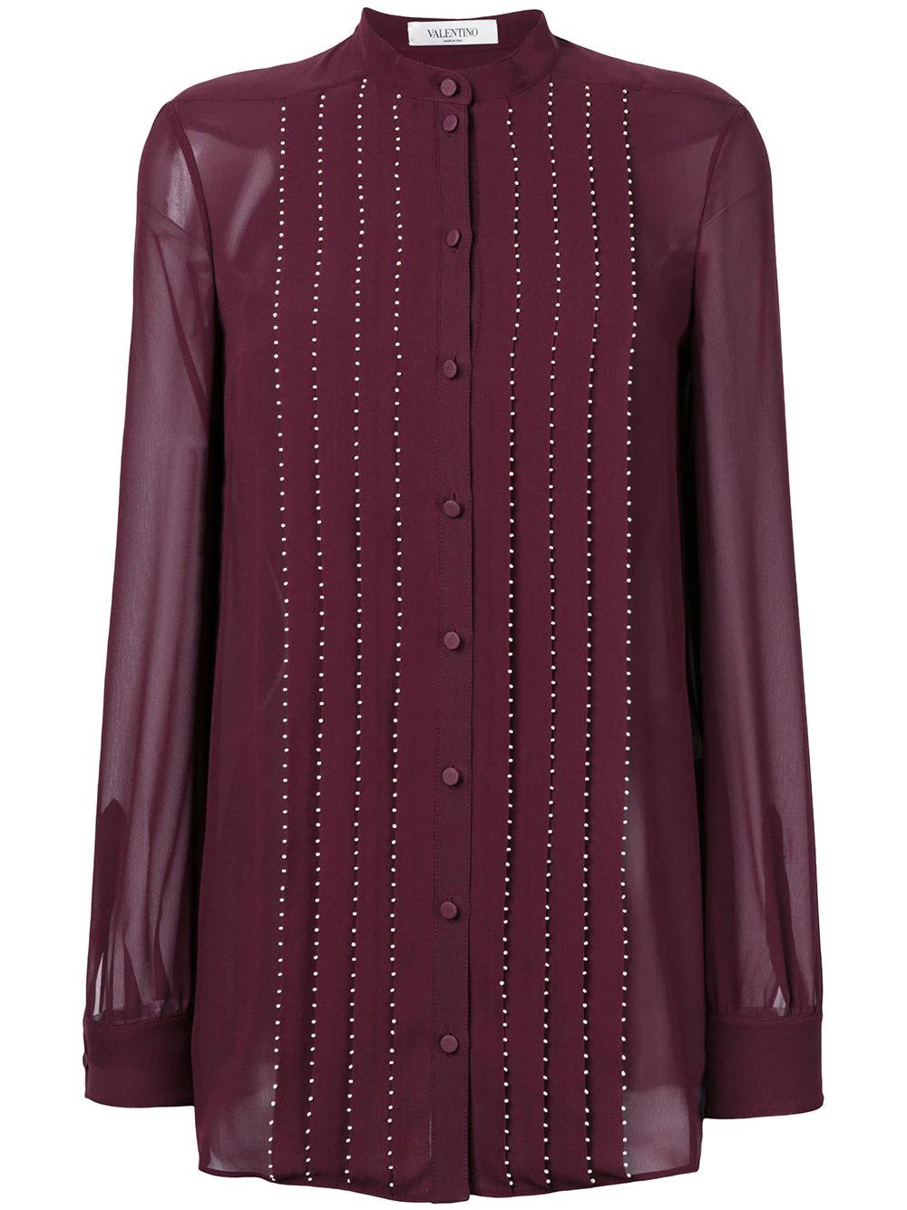 VALENTINO | плиссированная блузка | Clouty