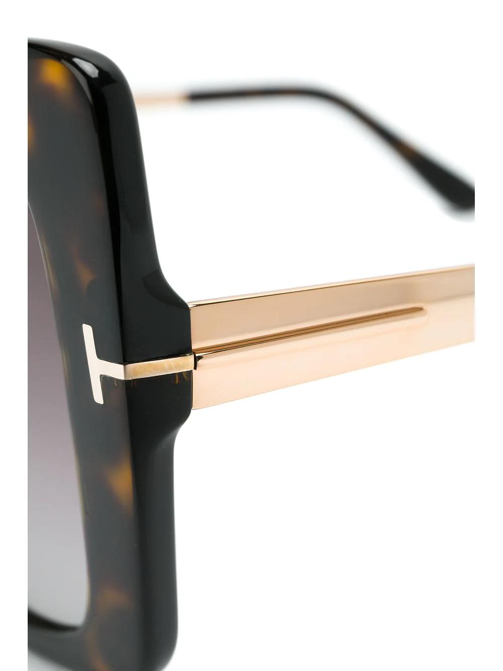 Tom Ford | массивные солнцезащитные очки | Clouty