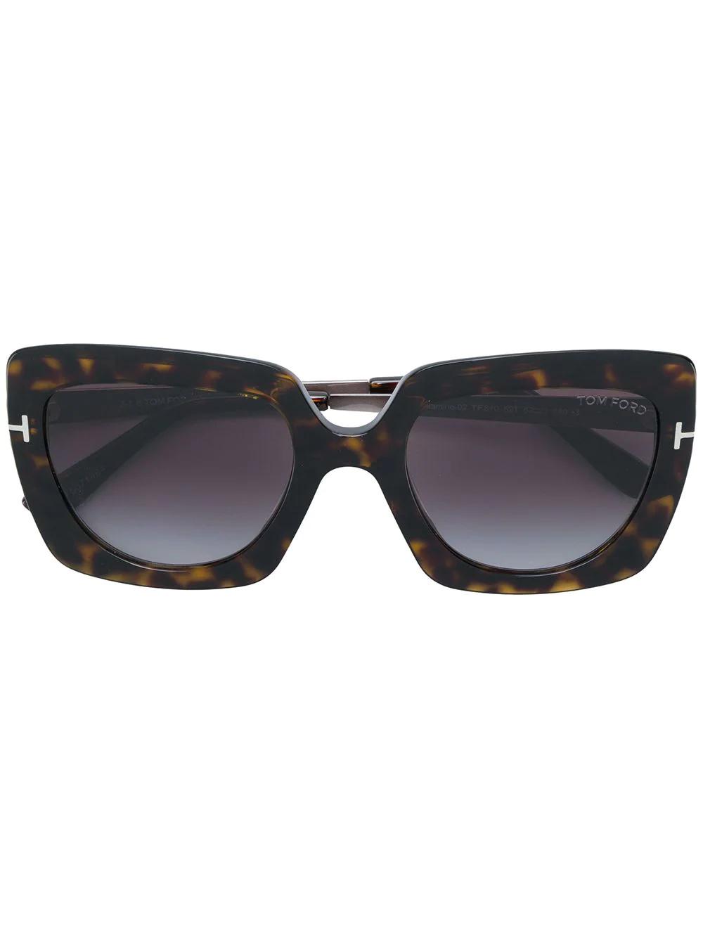 Tom Ford | солнцезащитные очки в квадратной оправе | Clouty