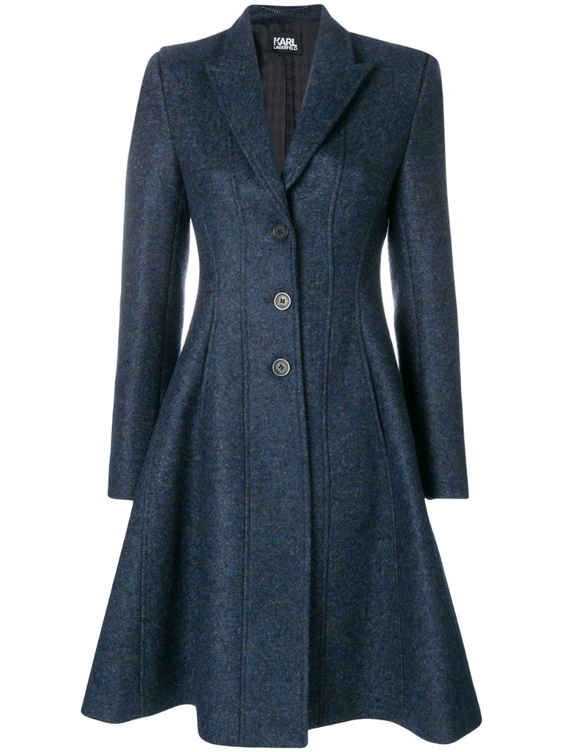 KARL LAGERFELD | Fit and Flare coat | Clouty