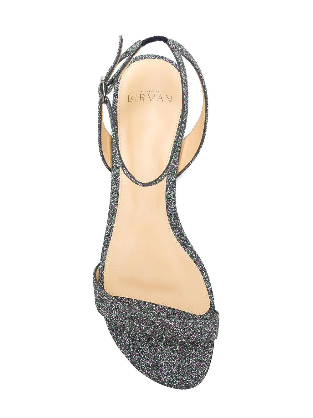 Alexandre Birman   сандалии из ремешков с отделкой мелкими блестками   Clouty