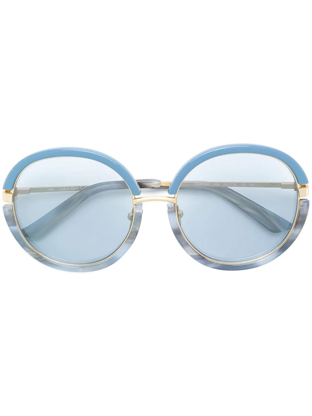Calvin Klein | круглые солнцезащитные очки | Clouty