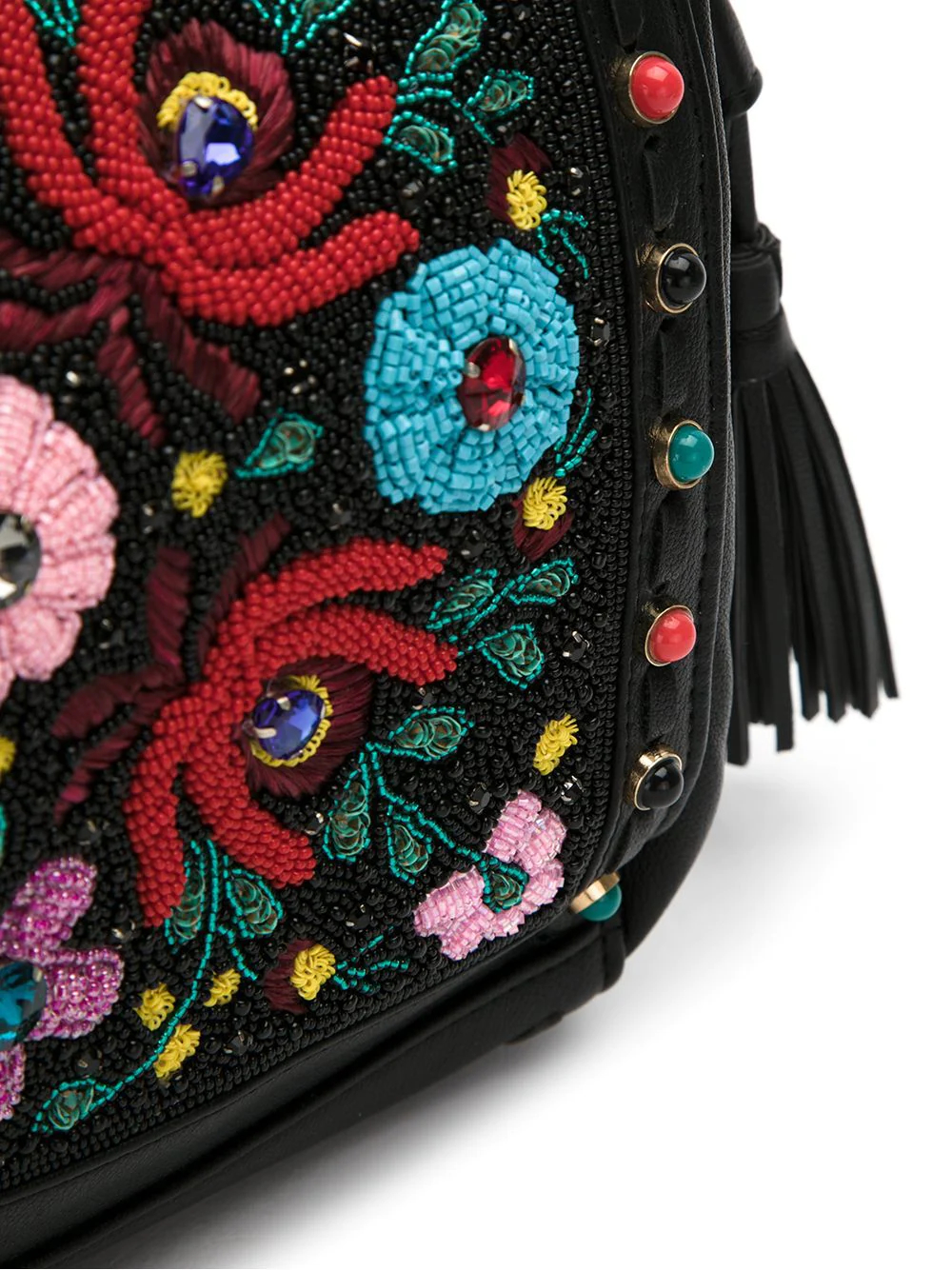 Isla   Maxi embroidered shoulder bag   Clouty