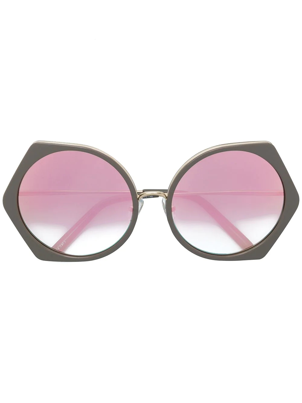 Matthew Williamson | солнцезащитные очки с геометрической оправе | Clouty