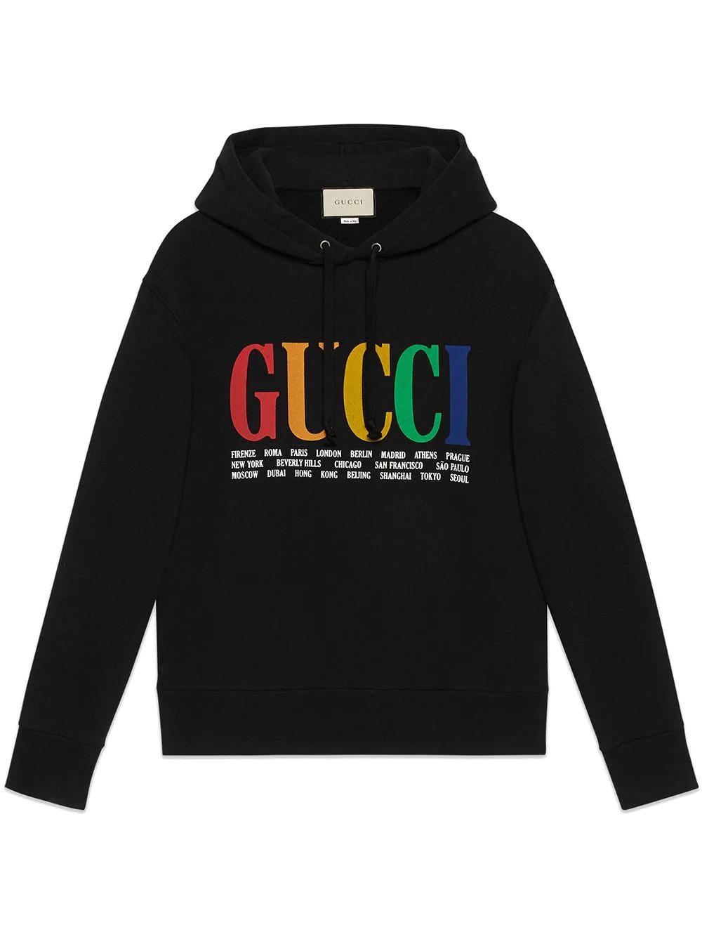 GUCCI | толстовка с капюшоном 'Gucci Cities' | Clouty