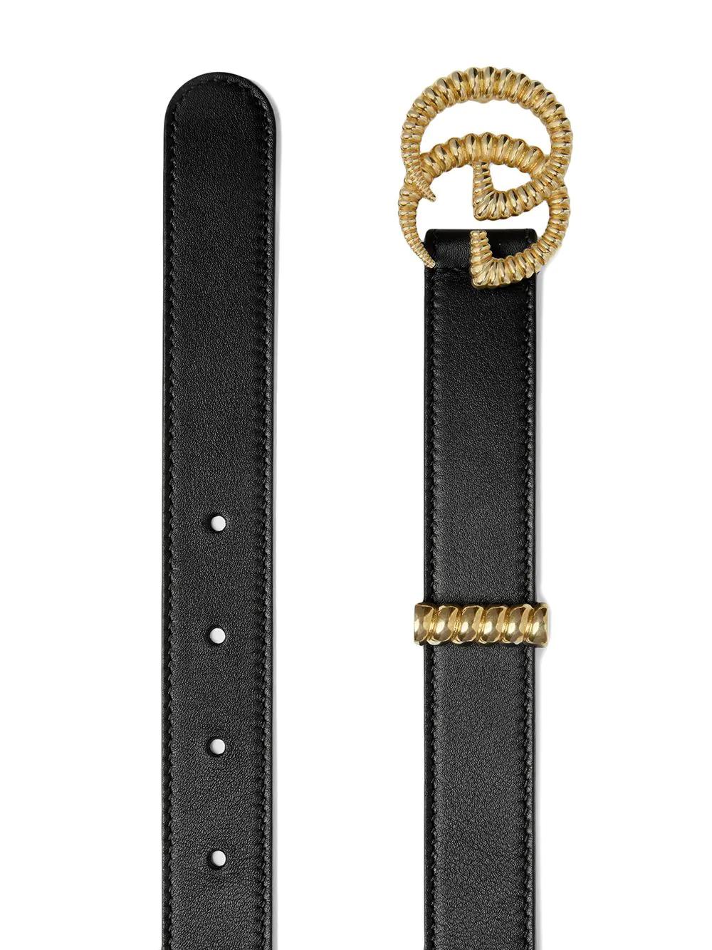 GUCCI | Gucci ремень с рельефной пряжкой с логотипом GG | Clouty