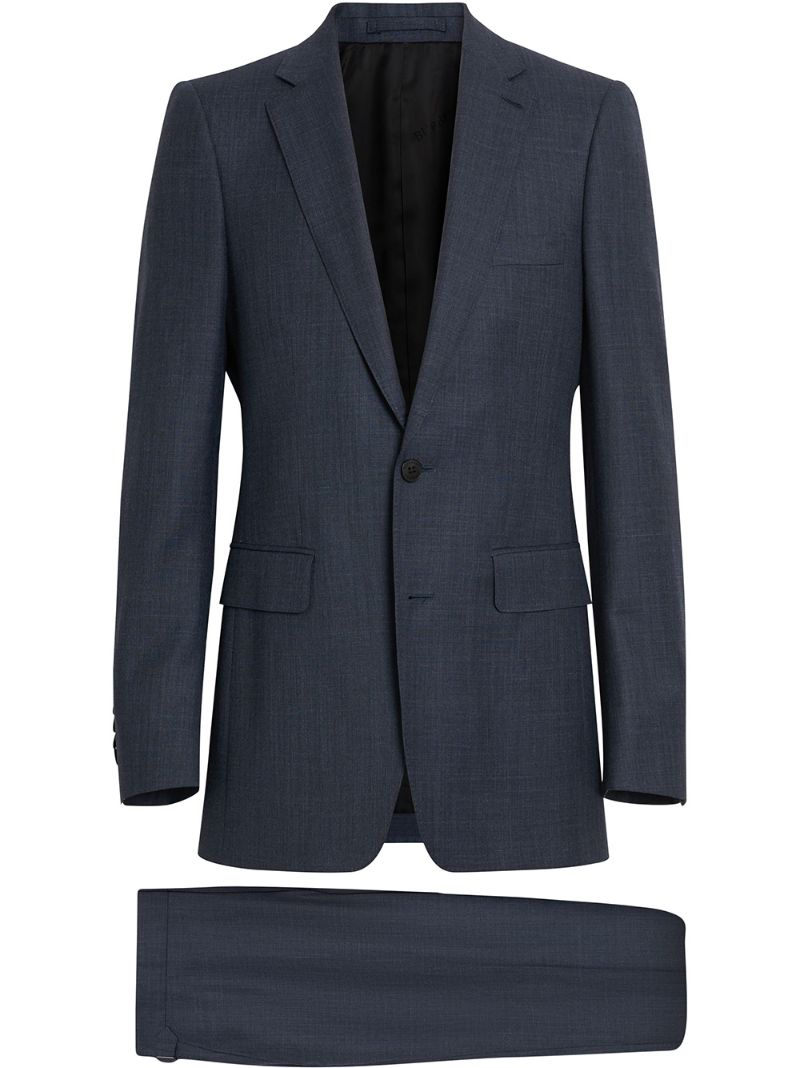 BURBERRY | slim-fit wool suit | Clouty