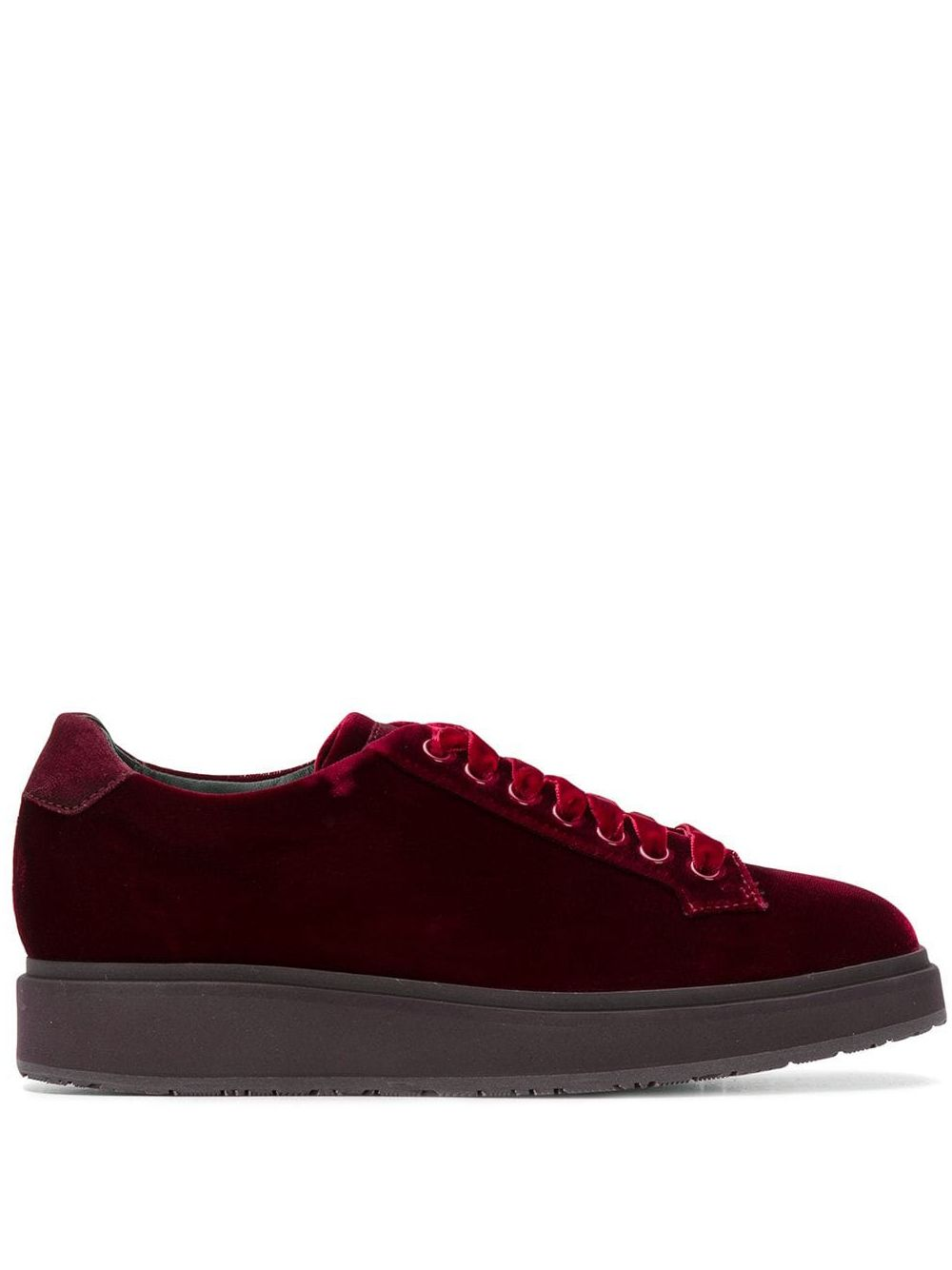 Santoni | кроссовки на шнуровке | Clouty