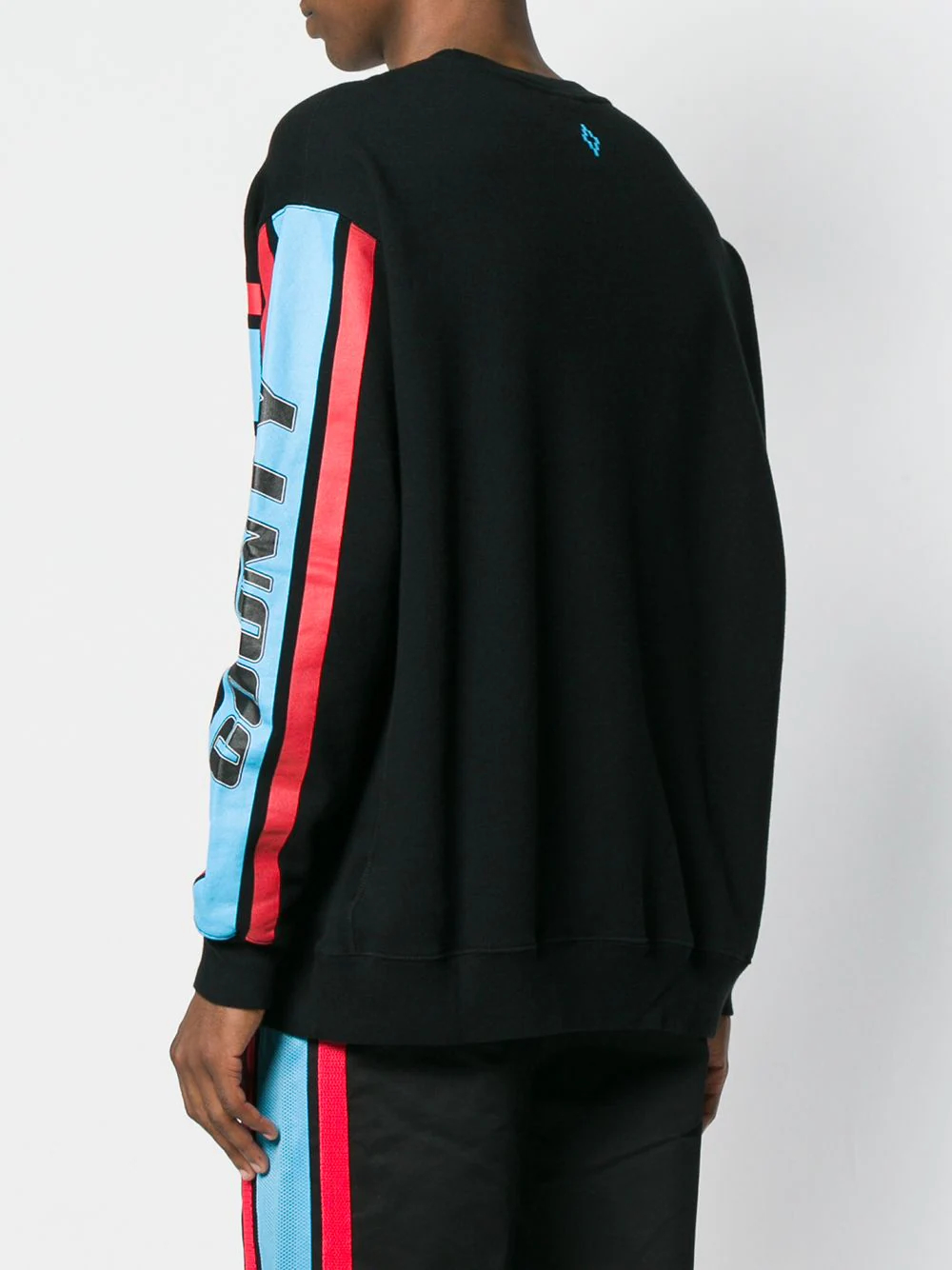 Marcelo Burlon   толстовка в стиле колор-блок с логотипом   Clouty