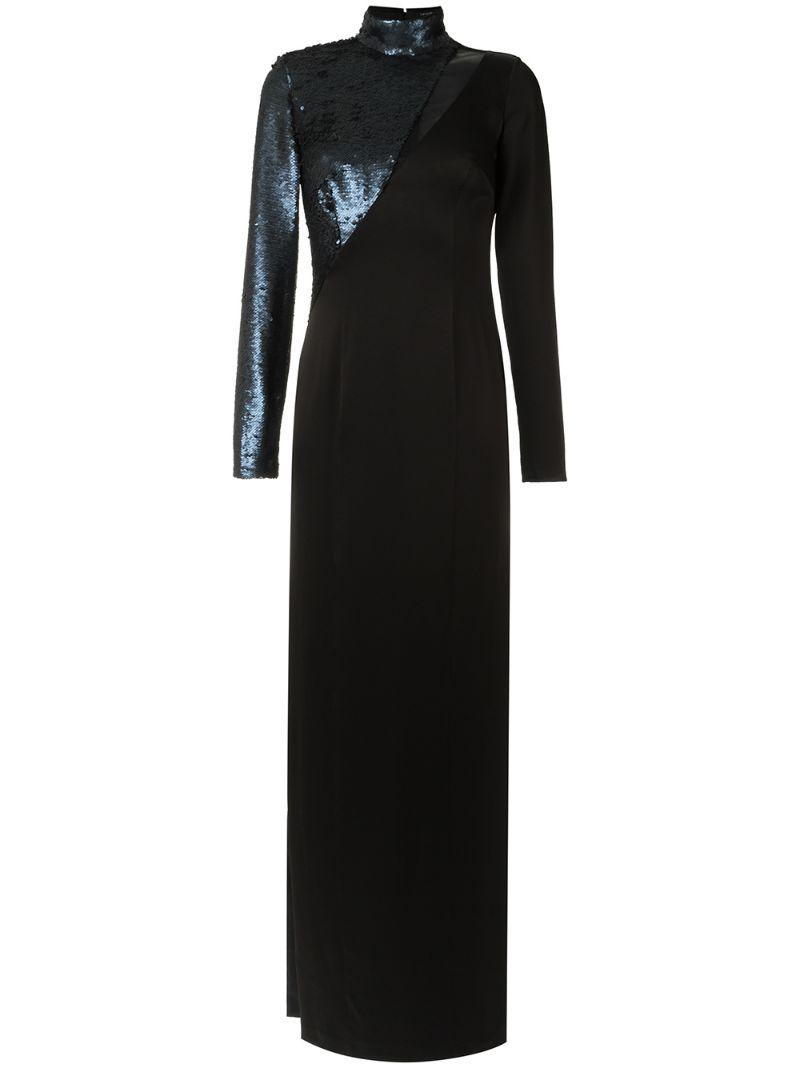 Tufi Duek | sequin panels gown | Clouty