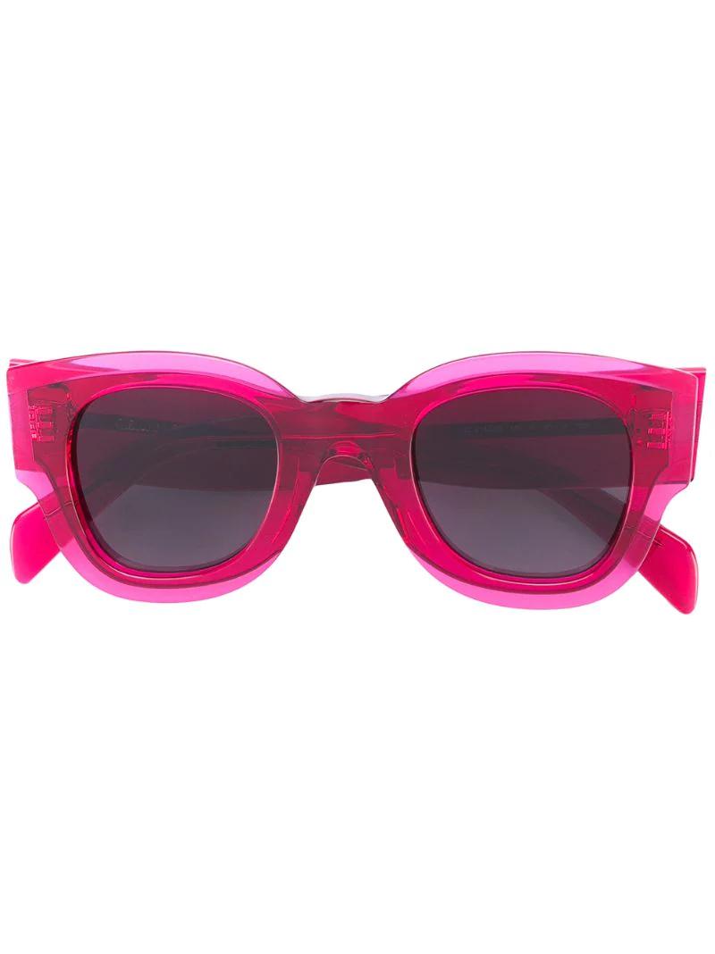 очки в толстой оправе 2