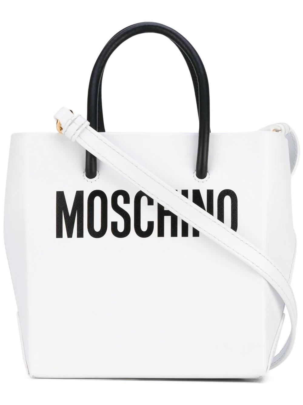 MOSCHINO | миниатюрная сумка-шоппер через плечо | Clouty