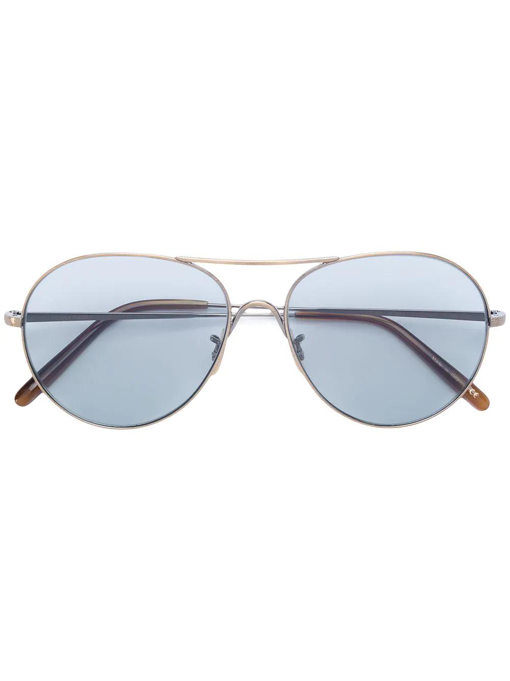 Oliver Peoples | солнцезащитные очки-авиаторы | Clouty