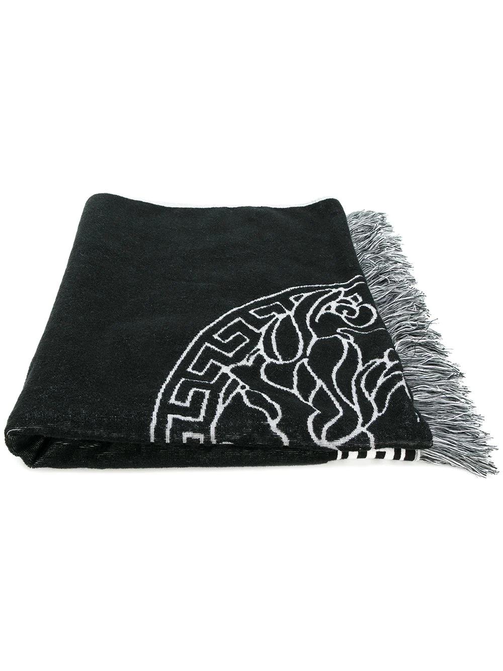 Versace | пляжное полотенце 'Medusa' | Clouty