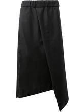 """Фото асимметричные укороченные брюки фасона """"фартук"""" Moohong"""