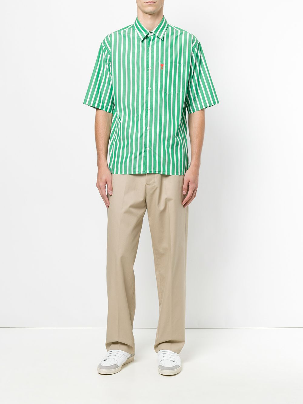 AMI | рубашка с короткими рукавами 'Ami de Coeur' | Clouty