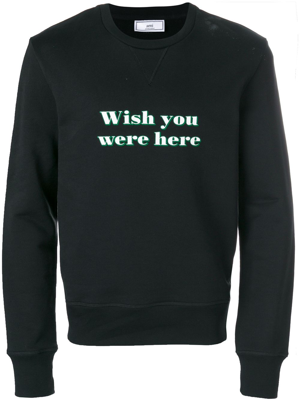 AMI | толстовка 'Wish You Were Here' | Clouty