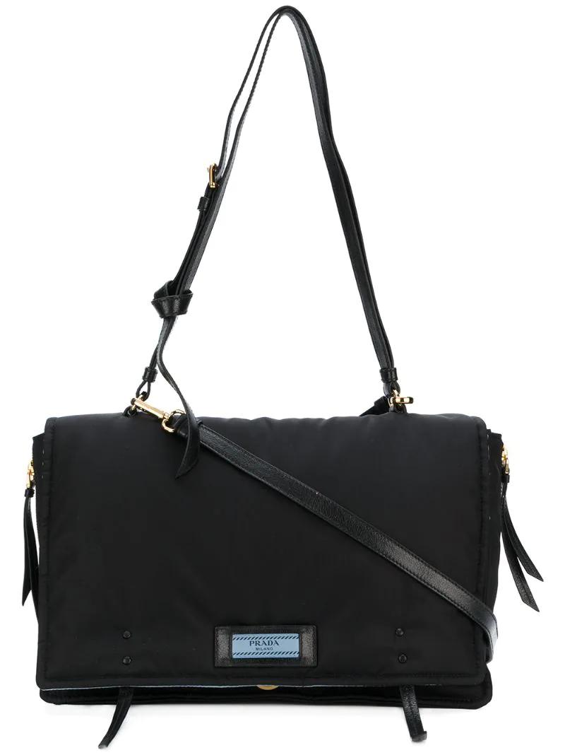 PRADA   Чёрный сумка на плечо Prada   Clouty