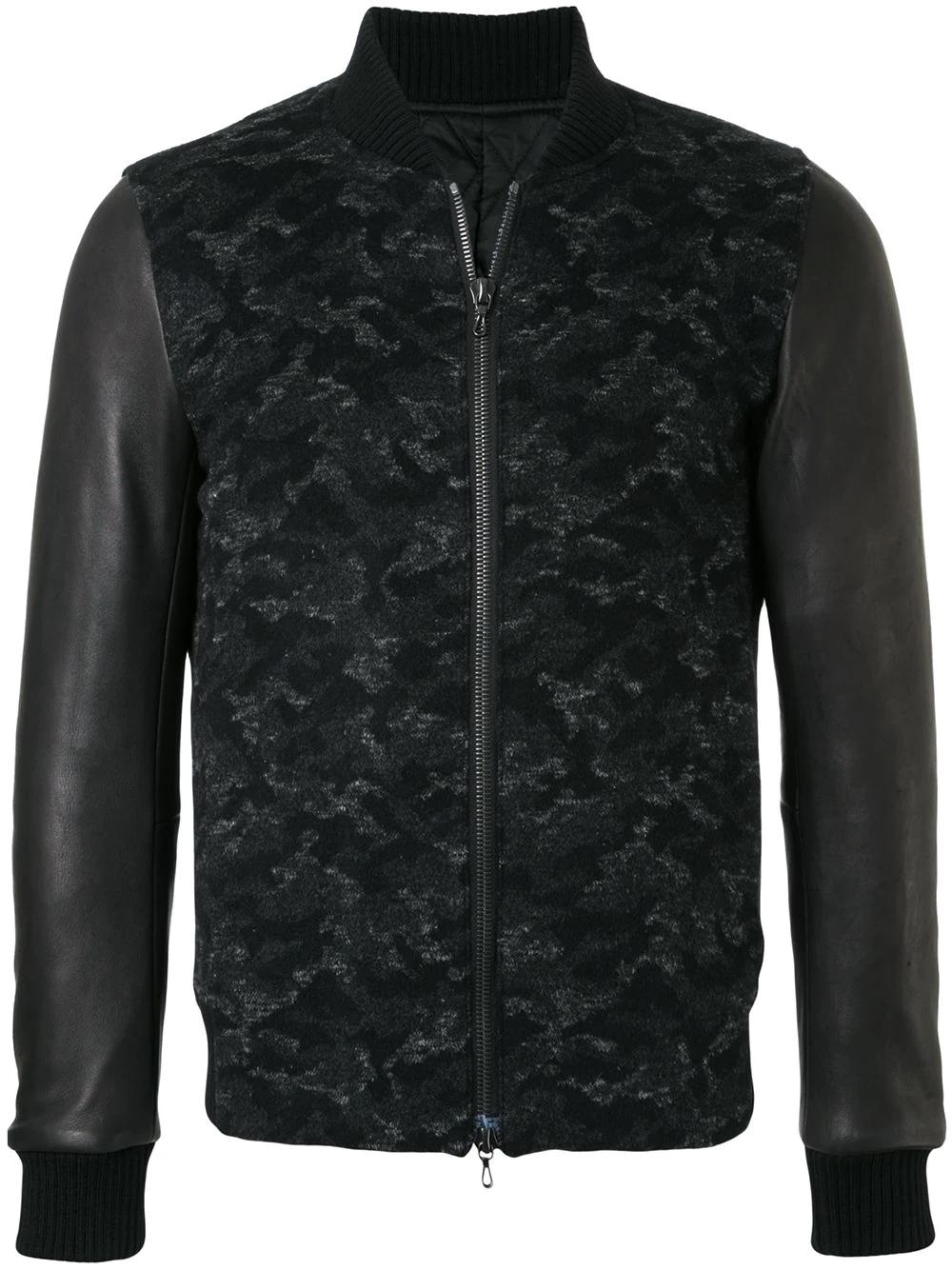 Kazuyuki Kumagai | куртка с панельным дизайном | Clouty