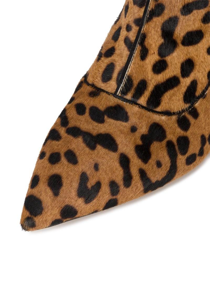 Tabitha Simmons | Коричневый леопардовые ботильоны 'Shadow' Tabitha Simmons | Clouty