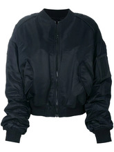 объемная куртка бомбер 'Archive' с вышивкой Juun.J