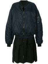 Фото куртка-бомбер с многослойным эффектом Juun.J