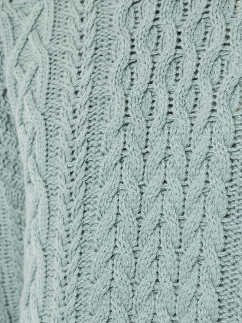 Kent & Curwen | Синий джемпер крупной вязки Kent & Curwen | Clouty