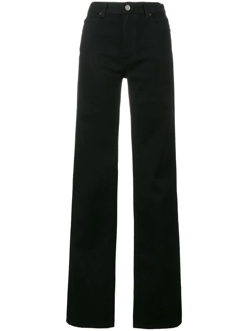 Calvin Klein | Чёрный широкие джинсы Calvin Klein 205W39nyc | Clouty