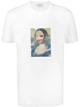 Фото футболка 'Mona Lisa' Jean-Michel Basquiat X Browns