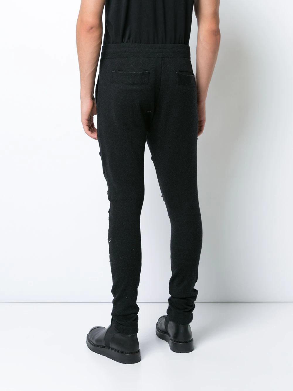Private Stock | спортивные брюки с необработанными краями | Clouty