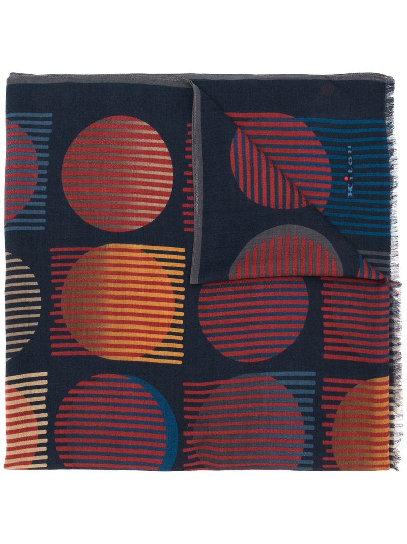 Kiton | кашемировый шарф в полоску | Clouty