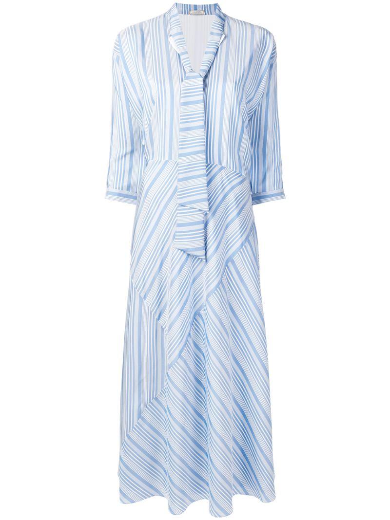 NINA RICCI | платье в полоску | Clouty