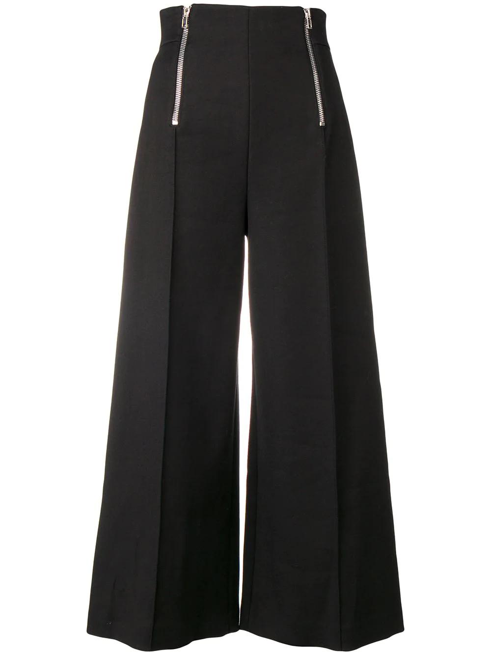 Alexander Wang   широкие брюки с высокой талией   Clouty
