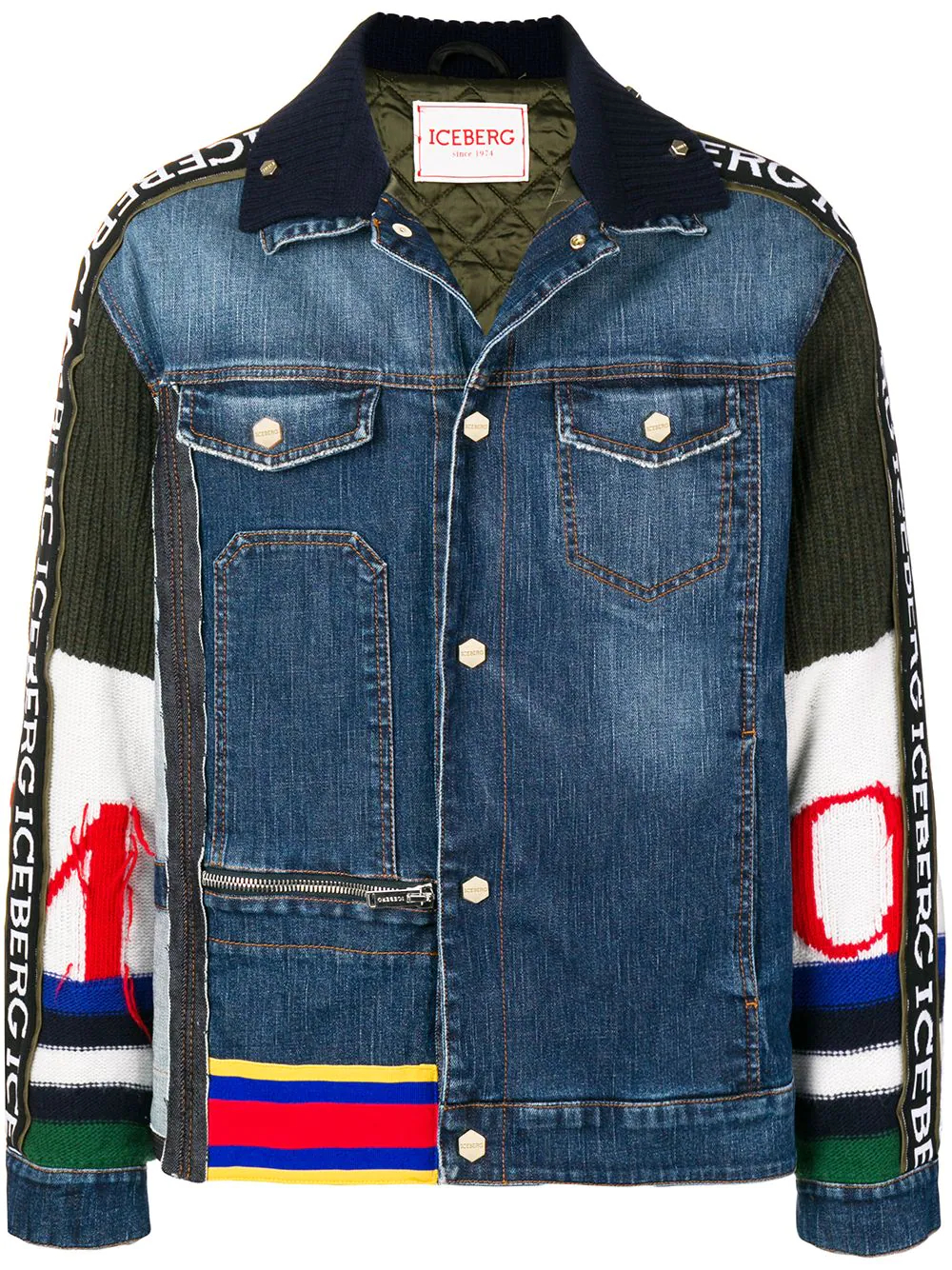 Iceberg | джинсовая куртка 'Piumini' | Clouty