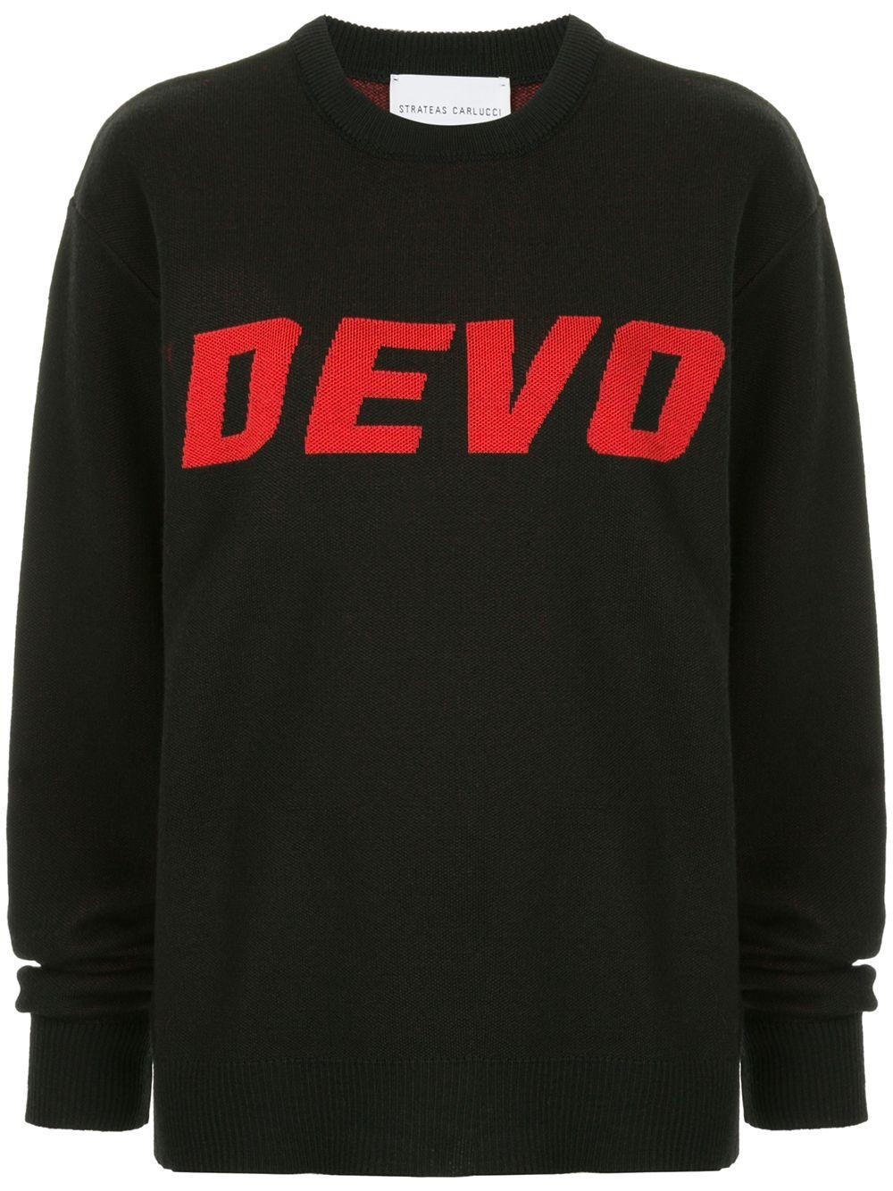Strateas Carlucci | трикотажный свитер 'Devo' | Clouty