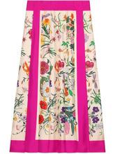 Фото юбка с принтом Flora