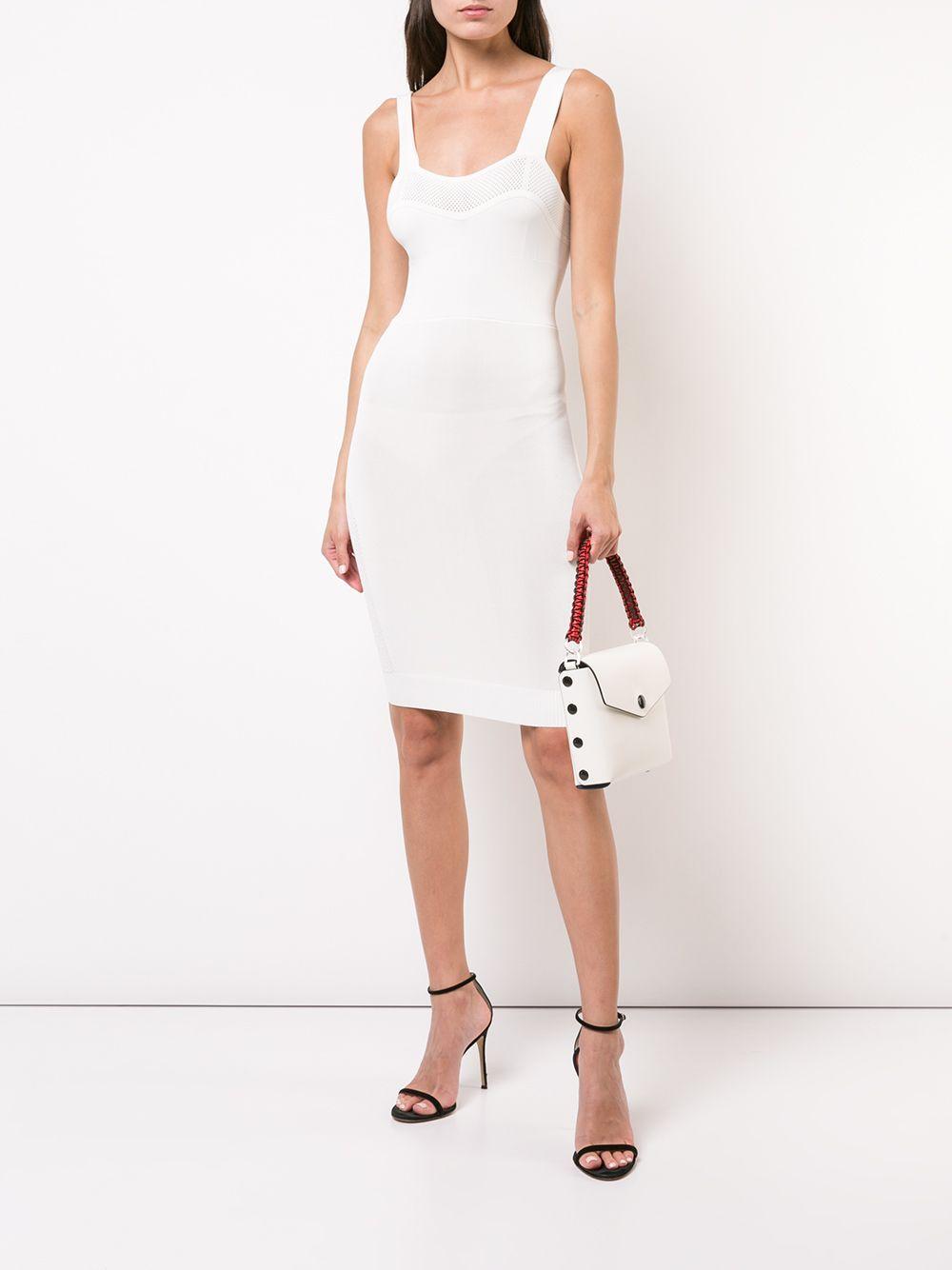 Fleur Du Mal | Fleur Du Mal трикотажное платье мини | Clouty