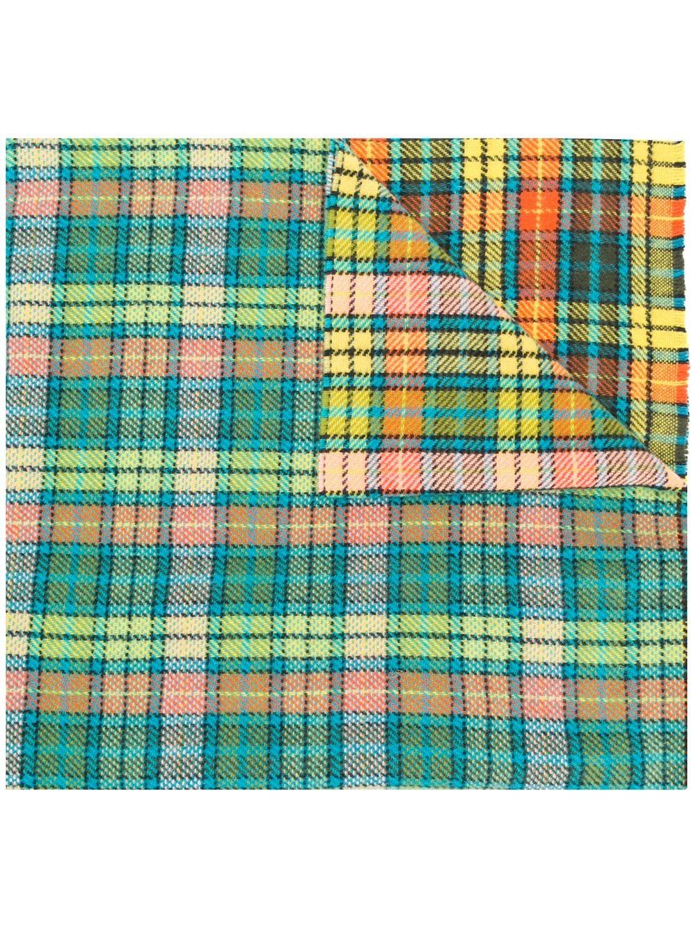 Acne Studios | клетчатый шарф в стиле оверсайз 'Cassiar' | Clouty