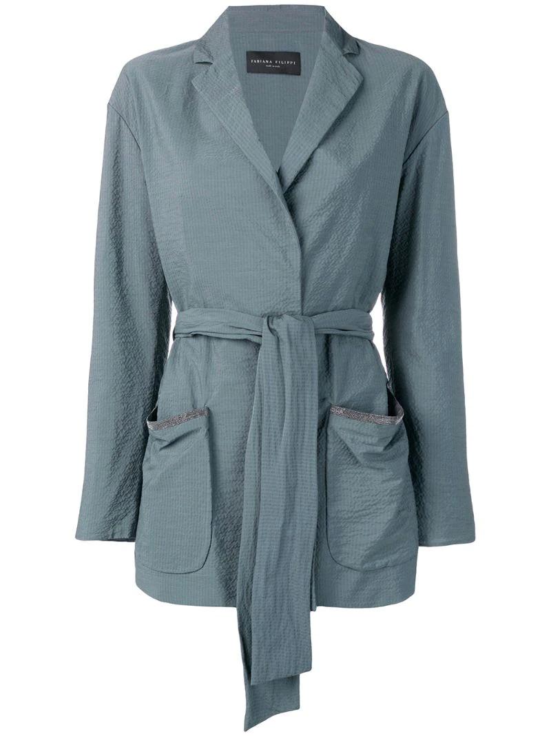 Fabiana Filippi | куртка с поясом | Clouty