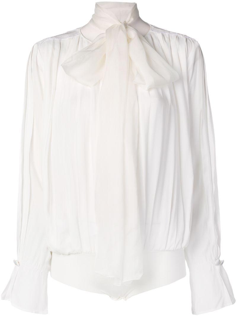 Elisabetta Franchi   блузка свободного кроя   Clouty