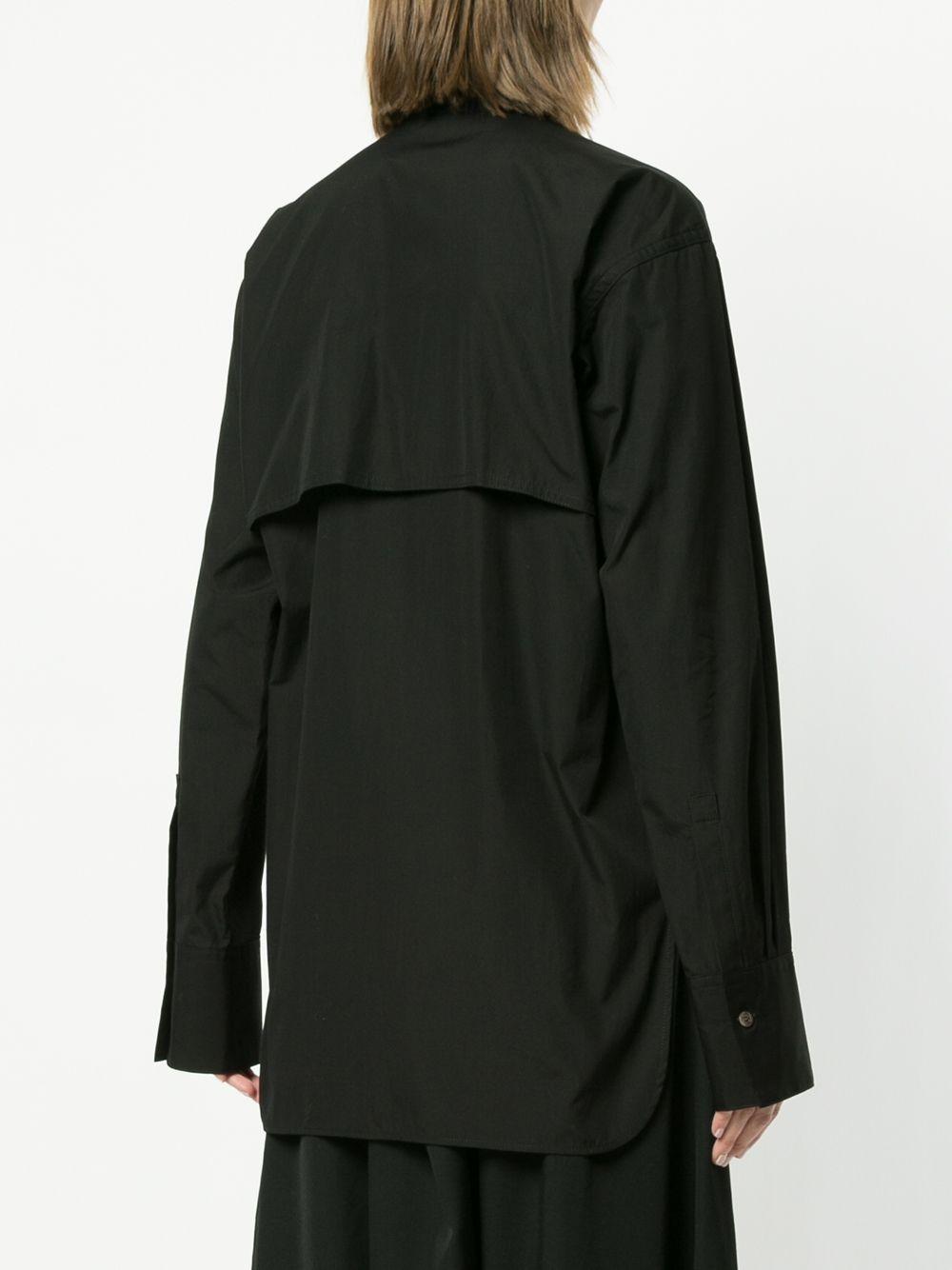 Y's | многослойная рубашка с оборкой | Clouty
