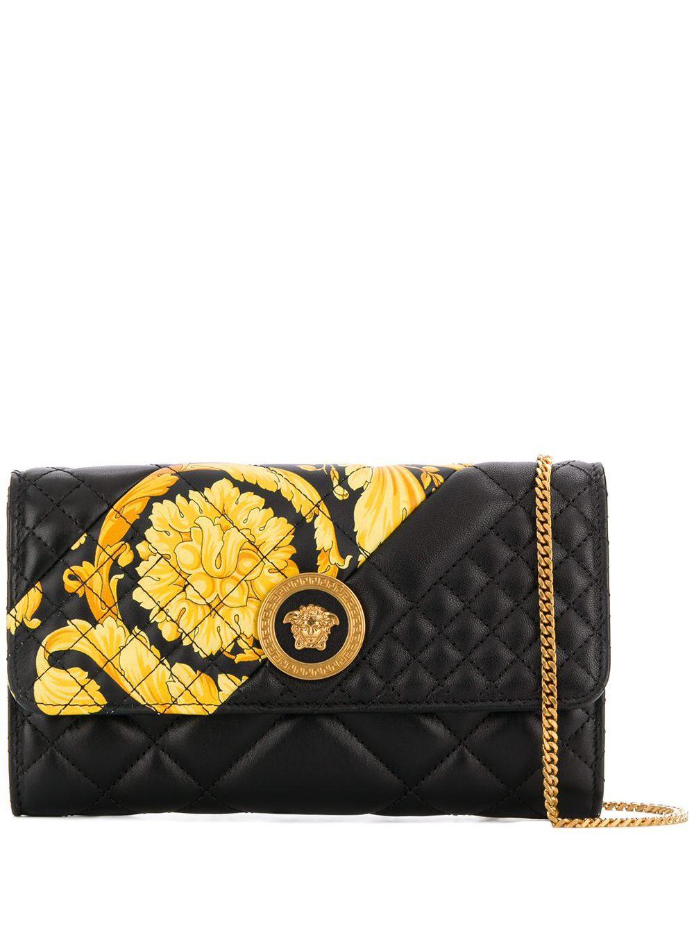 Versace | стеганый клатч 'Medusa' | Clouty