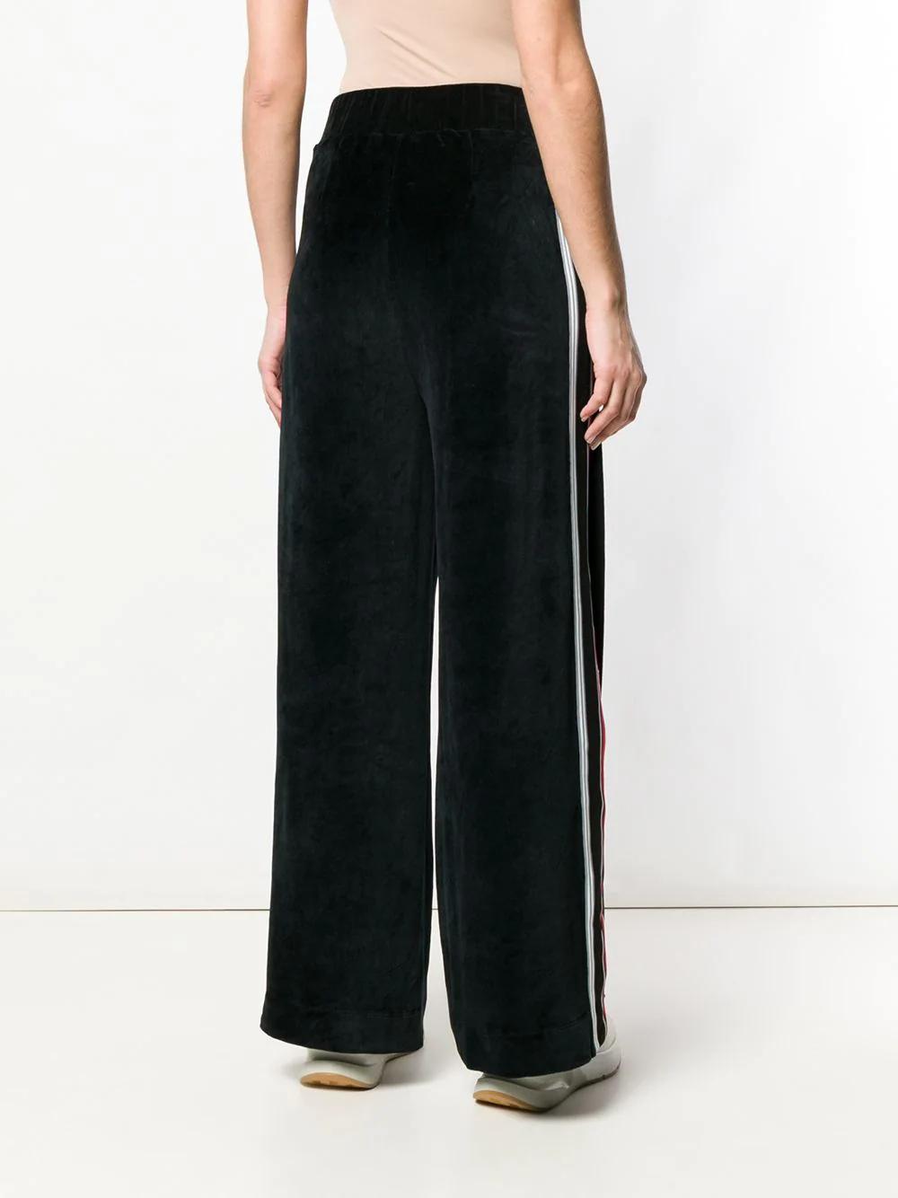 No Ka'Oi | расклешенные брюки свободного кроя | Clouty