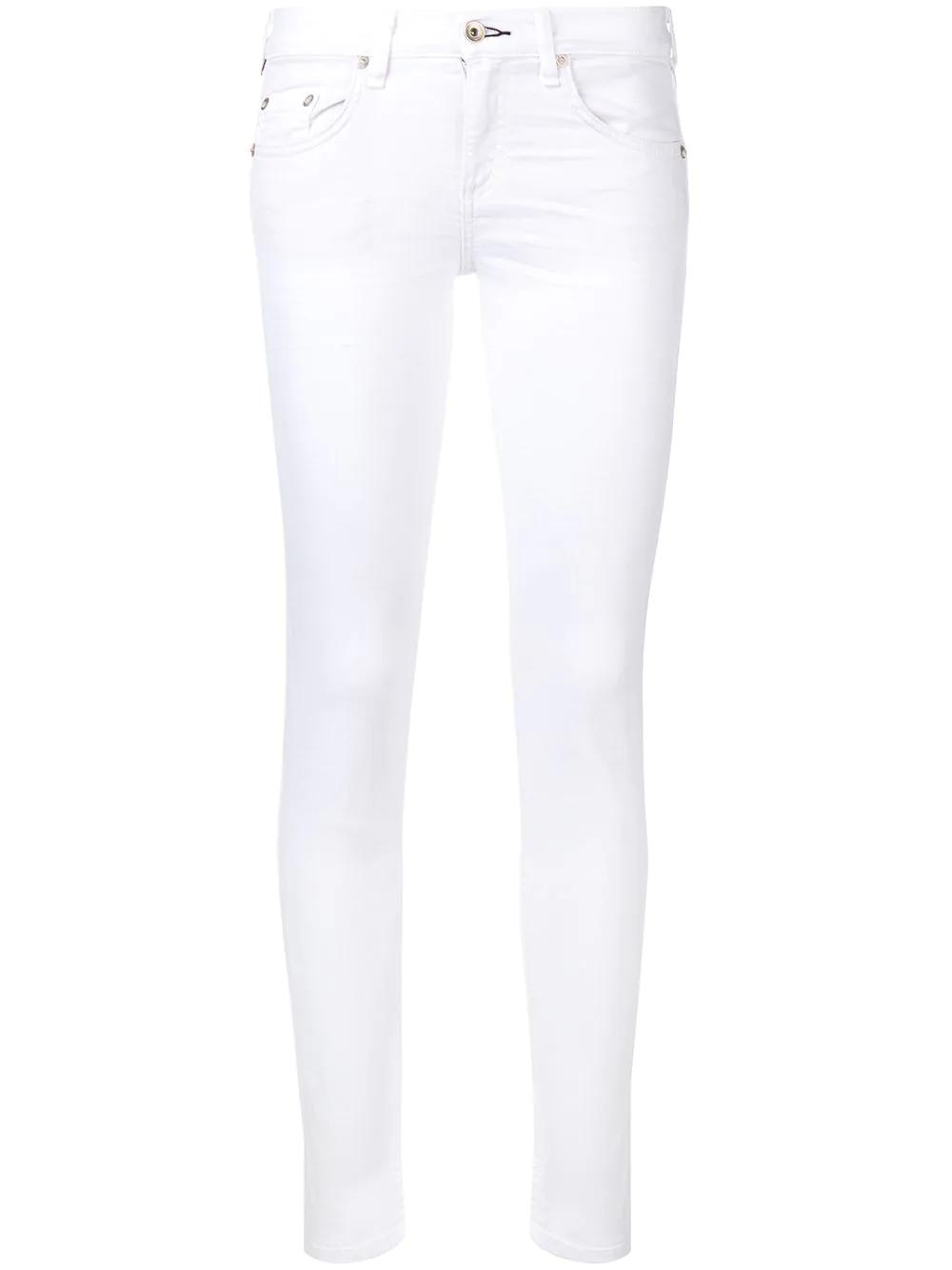 RAG & BONE | укороченные джинсы скинни | Clouty