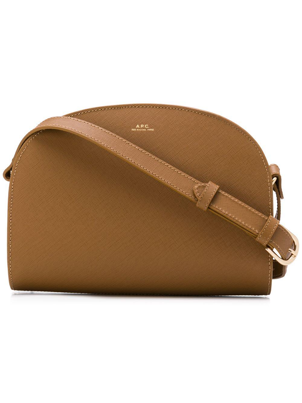 A.P.C. | сумка через плечо закругленной формы | Clouty